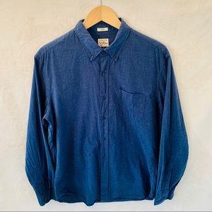 EUC J.Crew button down shirt slimfit, size L